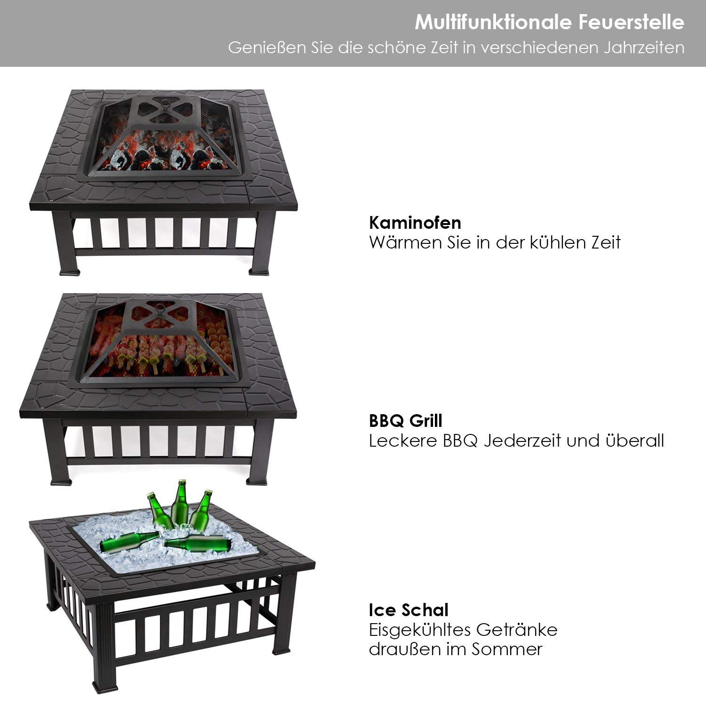 Brasero pour Jardin Terrasses BBQ
