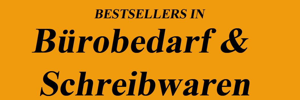 Bestseller in Bürobedarf & Schreibwaren