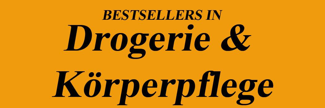 Bestseller in Drogerie & Körperpflege