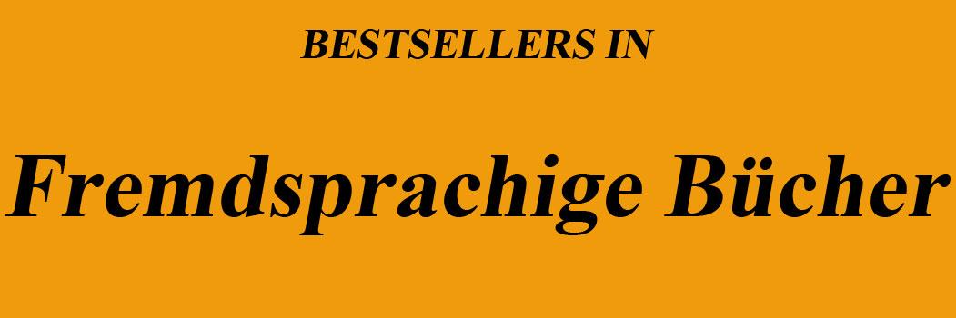 Bestseller in Fremdsprachige Bücher