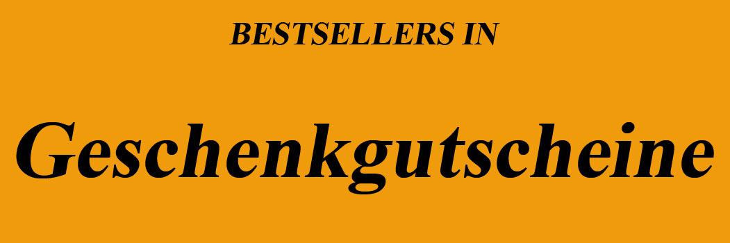 Bestseller in Geschenkgutscheine