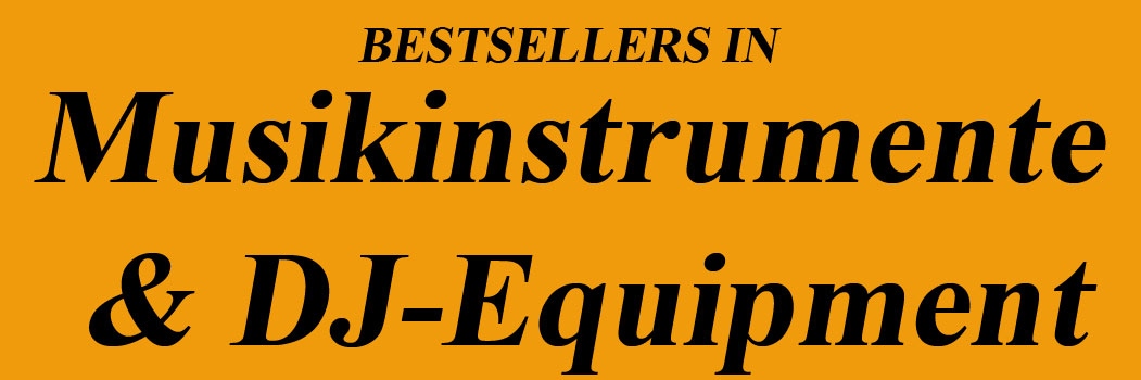 Bestseller in Musikinstrumente & DJ-Equipment