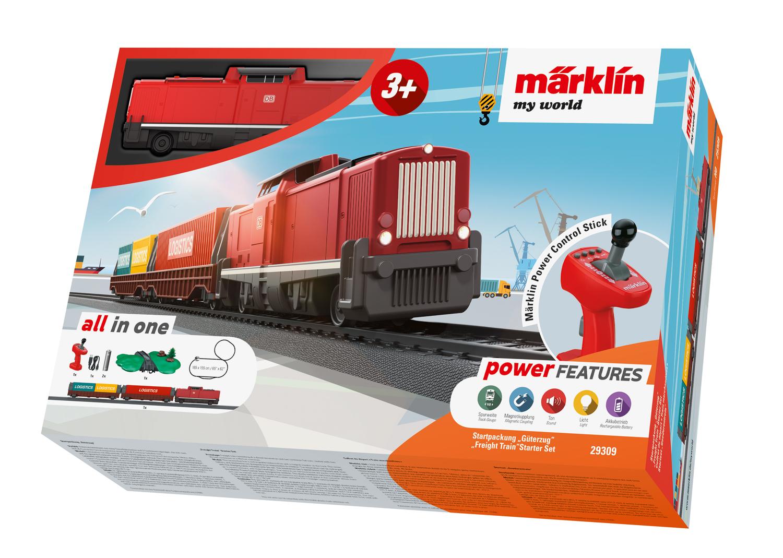 Bij de Best Verkochte Modeltreinen is dit starterspakket van Marklin een verkooptopper omdat het pakket volledig is.