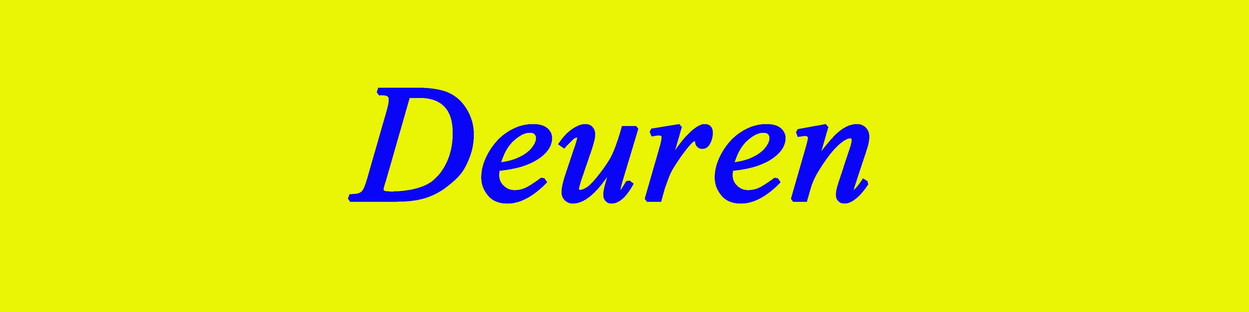 TOP 100 Deuren
