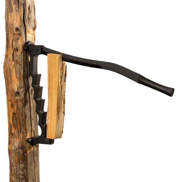 spanmes van Flint is een houtsplijter voor de woonkamer. Met dit spanmes heb je de mogelijkheid zelf je brandhout en je spaanders te maken.