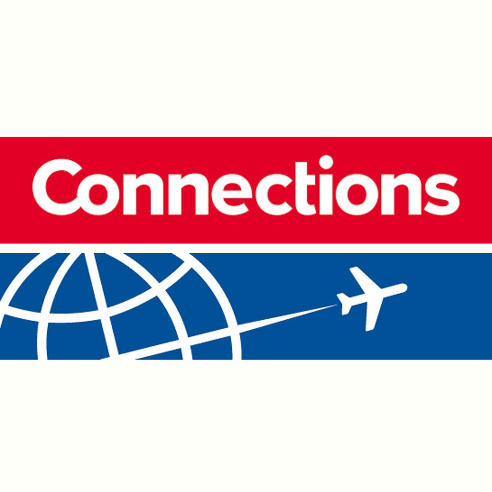 Connections voor al uw vliegtuigtickets, citytrips