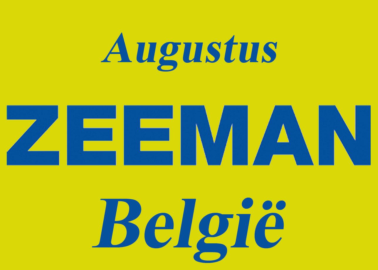 Zeeman België Augustus