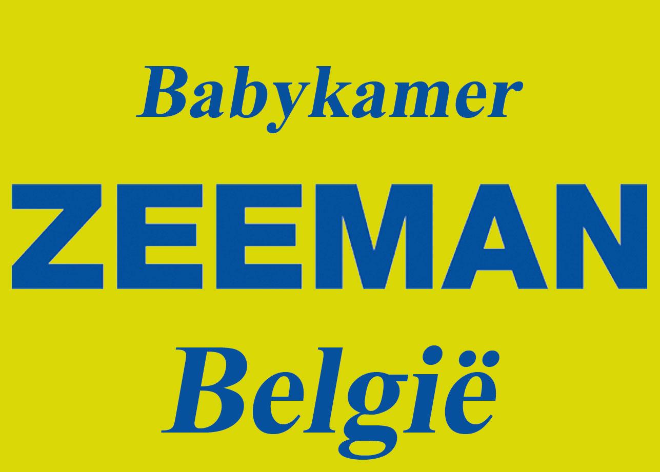 ZEEMAN BELGIE - Babykamer