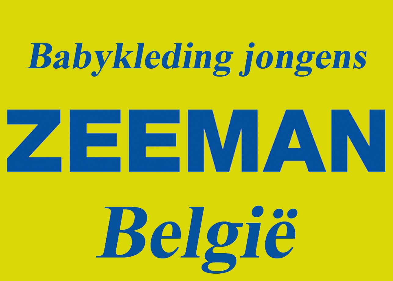 ZEEMAN BELGIE - Babykleding jongens