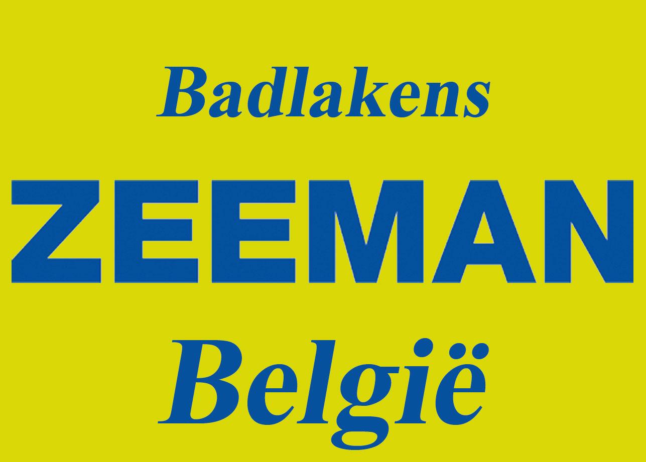ZEEMAN BELGIE - Badlakens