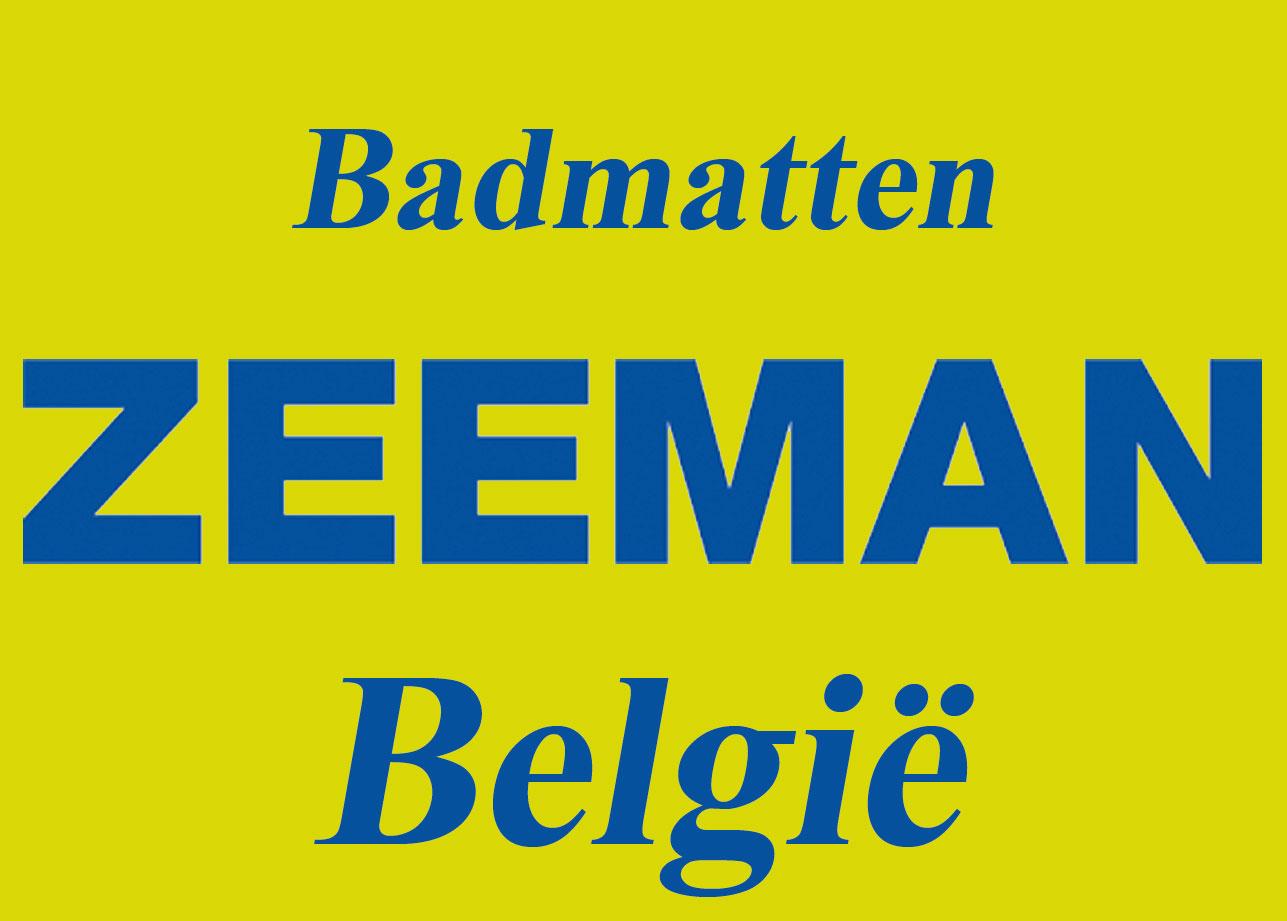 ZEEMAN BELGIE - Badmatten