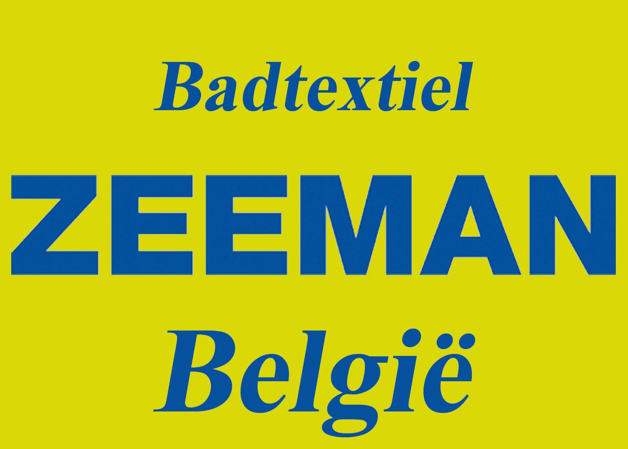 ZEEMAN BELGIE - Badtextiel
