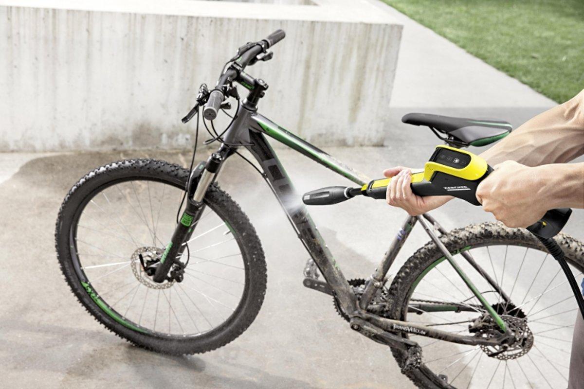 voor de fiets.