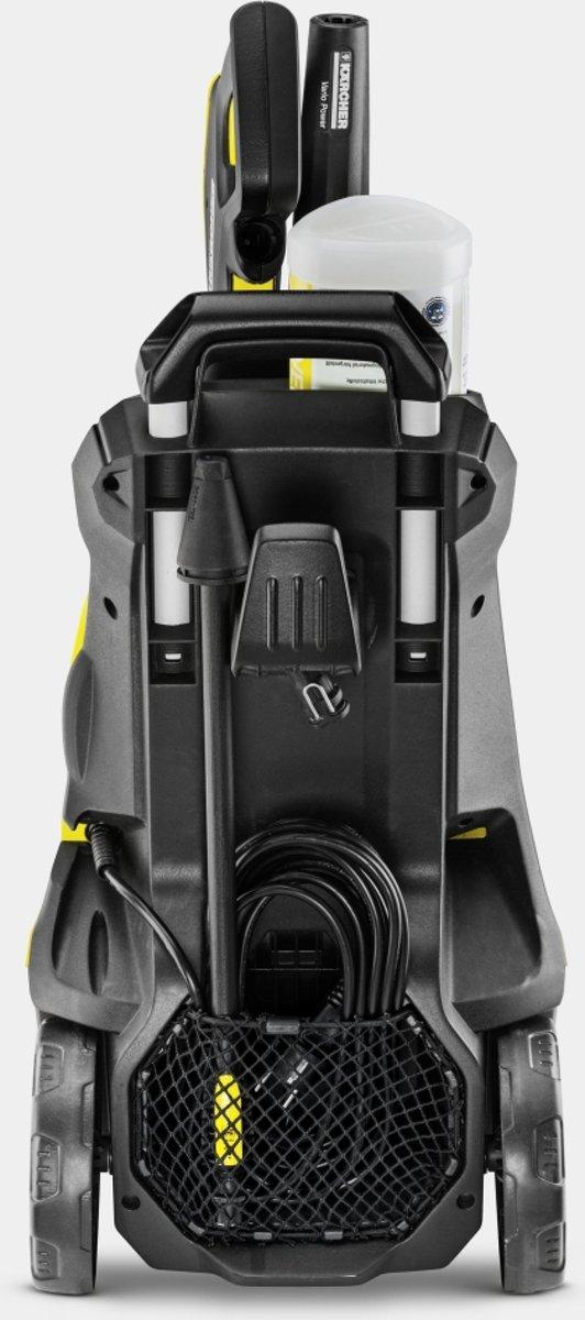 Hogedrukreiniger Kärcher K 4 alle accessoires gemakkelijk op te bergen.