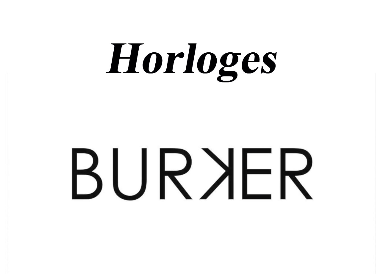 Burker Watches Horloges