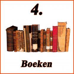 Boeken, veel leesplezier.