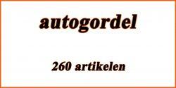 Catalogus Auto en motor: autogordel
