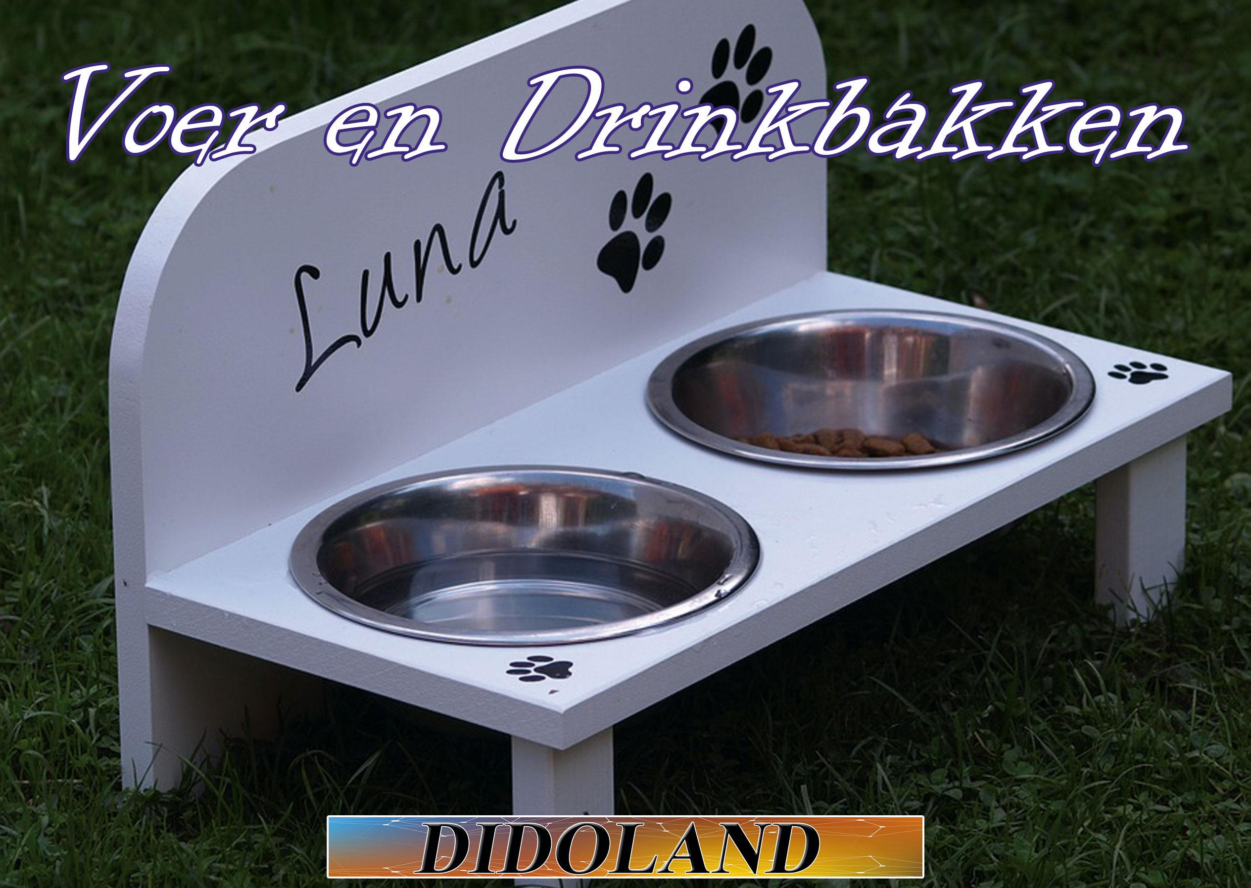 Voer en drinkbakken in Alles voor honden