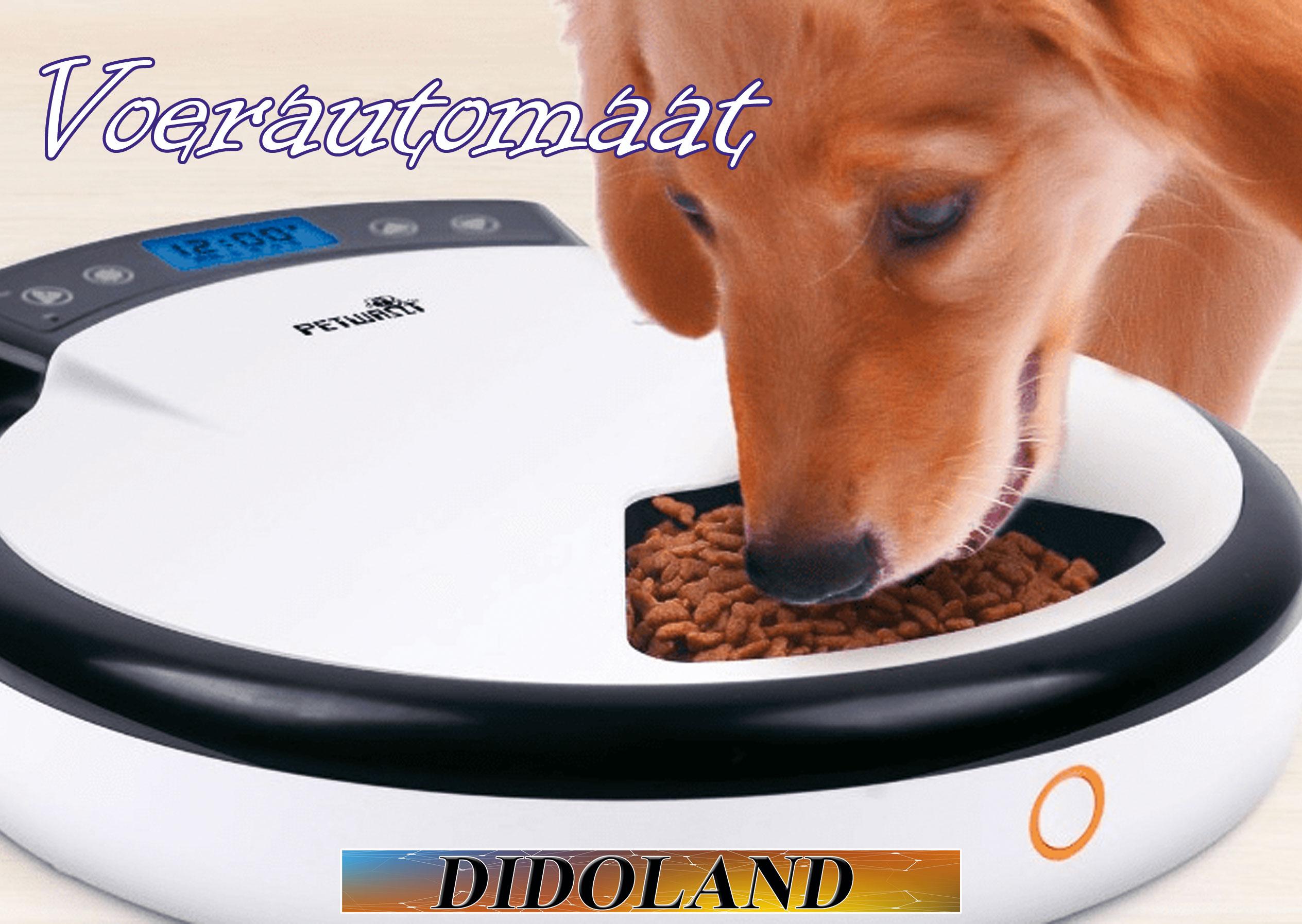 Voerautomaat in Alles voor honden