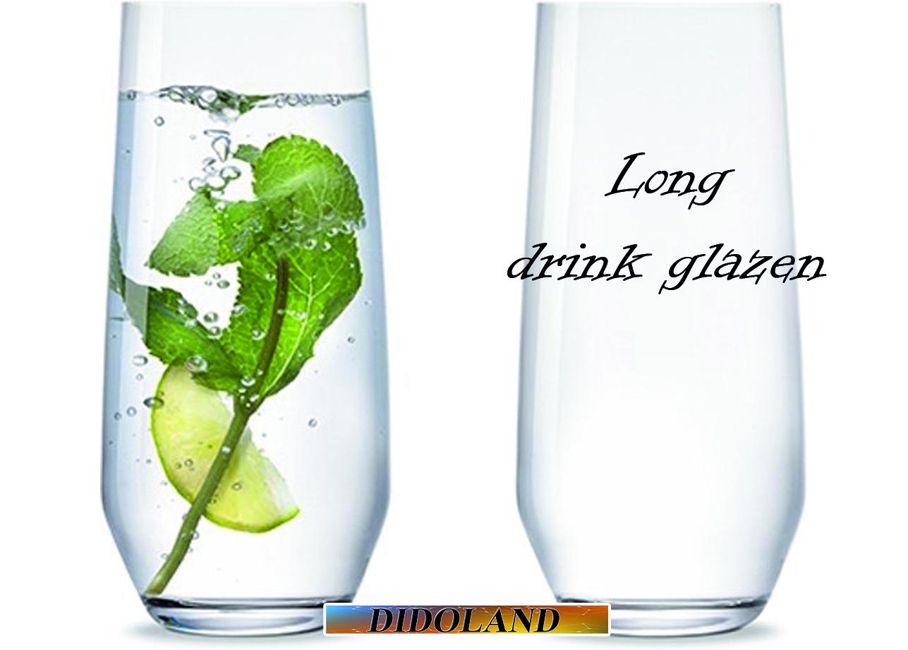 long drink glazen