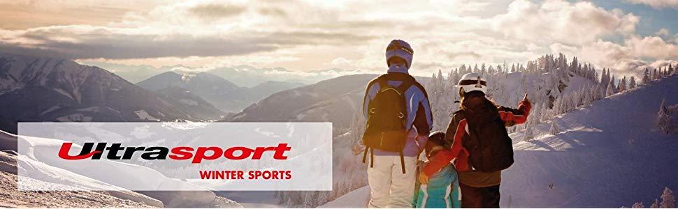 De functionele damesbroek van Ultrasport is ideaal voor skiën, snowboarden en alle buitensporten in de sneeuw.