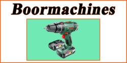 Doe het zelf markt: Boormachines