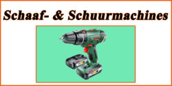Doe het zelf markt: Schaaf- & Schuurmachines