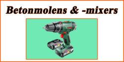 Doe het zelf markt: Betonmolens & -mixers
