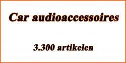 Car audioaccessoires