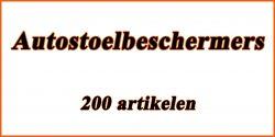 Catalogus Auto en motor: Autostoelbeschermers