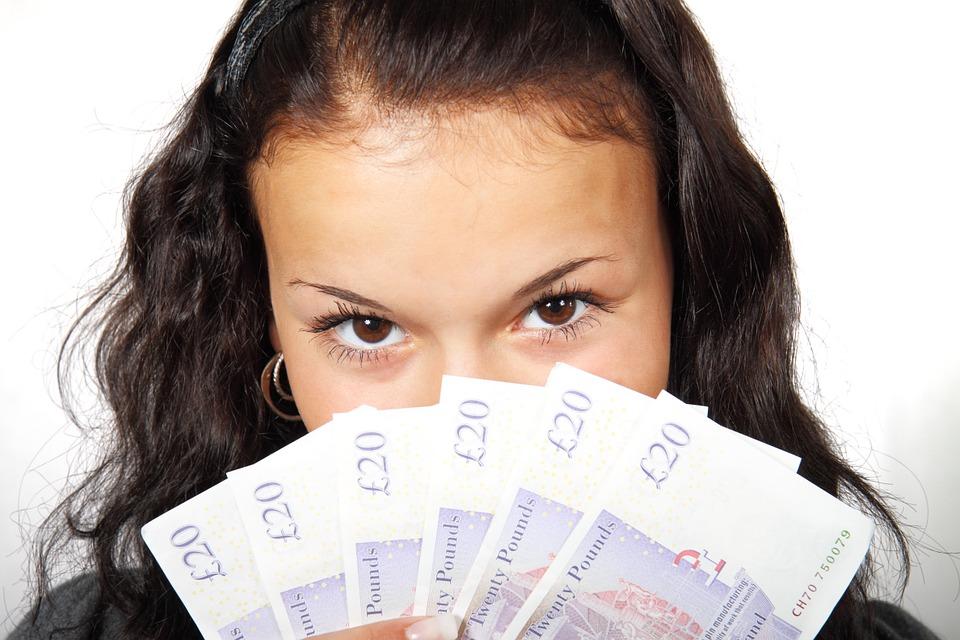 Geld verdienen met een winstgevende business.