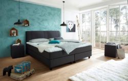 Luxe boxspringbed Rockstar convex welcon. Bestsellers in Boxsprings.