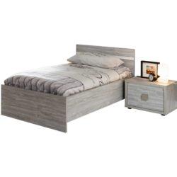 Bed Clara - 90x200cm. Slaapkamers