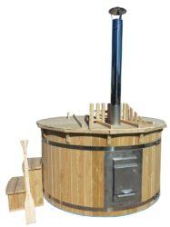 sell-tex Badbeker, complete set met deksel en accessoires, Ø180 cm