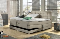 Electrische boxspring Dubai beige 180x200. Bestsellers in Boxsprings