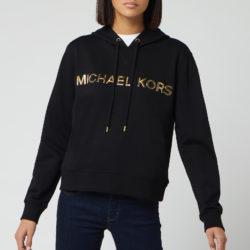 sweater met capuchon voor dames, zwart