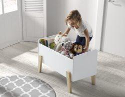 Speelkoffer Babykamer Kiddy Wit Betaalbare mooi afgewerkte Babykamers