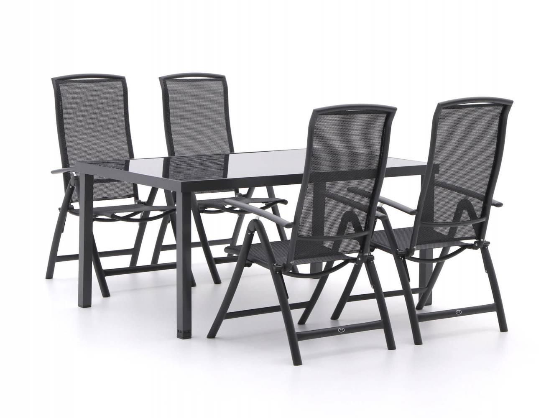 R&S Design Capri/Caluso 160cm dining tuinset 5-delig verstelbaar. Laagste prijs Tuinsets. Laagste prijs Tuinsets