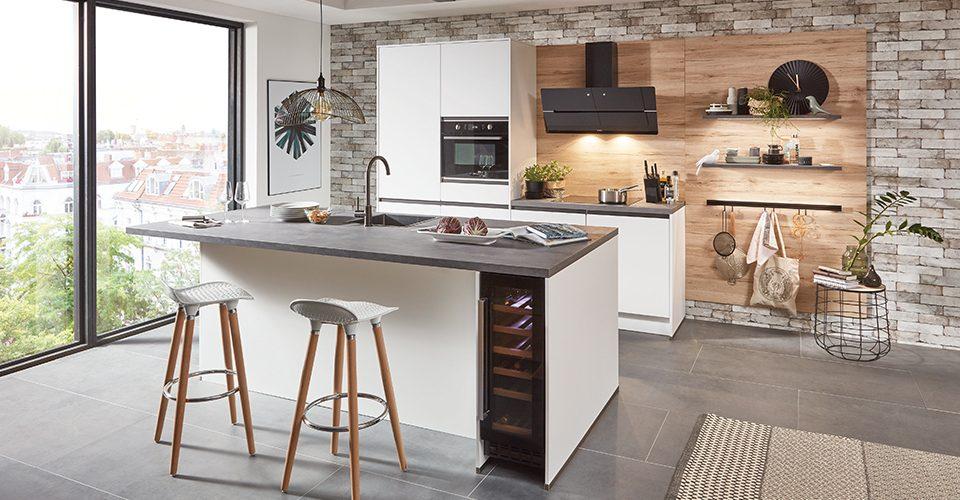 Lazio moderne greeploze keuken